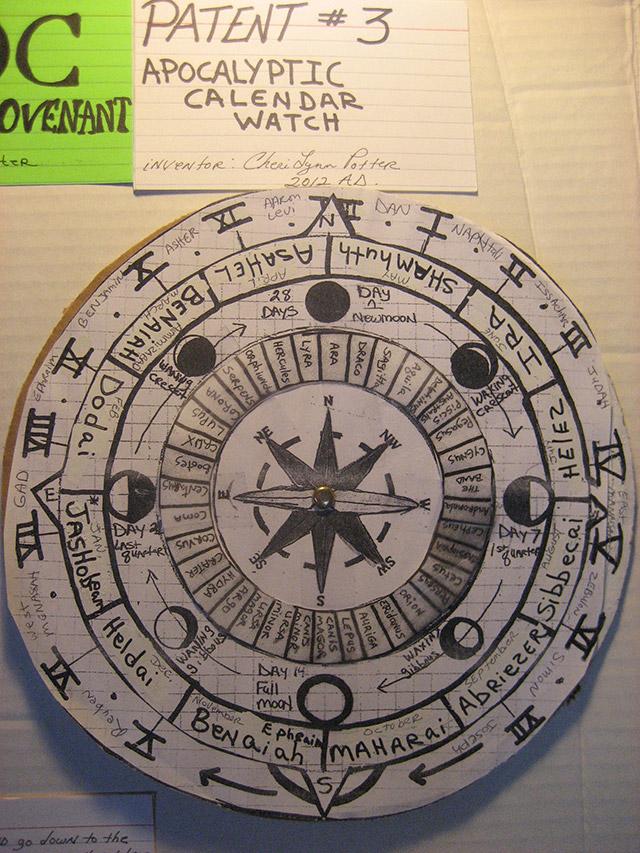Apocalyptic Calendar Watch